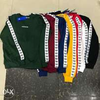 Adidas Sweat Tops Available..
