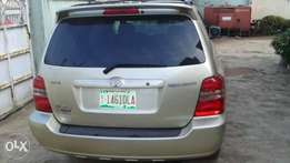 Tokunbo, lagos cleared 2003, toyota highlander