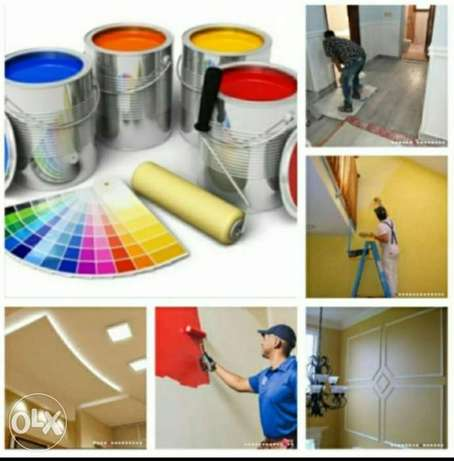 Dear sir / madam I do all kids of painting service villa and Room