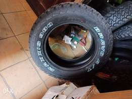 265/60R18 brand new maxxis tyres Tubeless.