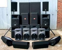 Public Address System for Hire