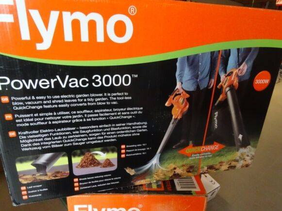 Sale flymo powervac3000 blower for  by auction