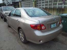 super clean toyota corolla 2009 First Body,Very sharp car, perfect eng