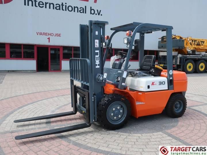 Heli CPCD30 Diesel 3000KG Duplex-300cm Sideshift UNUSED