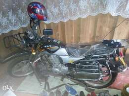 brand new motorcycle in good condition
