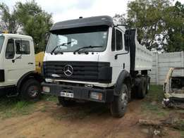 1995 Mercedes Powerliner 2635 Ten Cubic Tipper