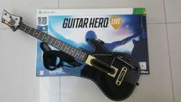 Guitar Hero Live for Xbox360 (Game + whole kit ) for only R1000