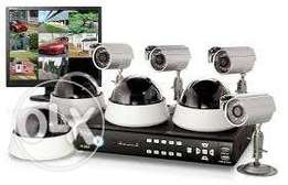 cc tv cameras and electric fence installattion