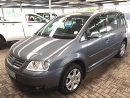 2004 VW Touran 2.0 TDI 6 Speed