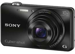DSC-WX220 SONY cybershort Compact Camera 18.2mp 10x Optical Zoom