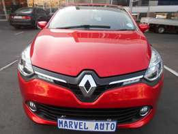 2015 Renault Clio 66kw Turbo Gt-line For R135,000
