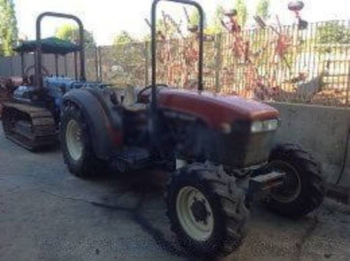 New Holland tn 75 f  dt rops - 2000