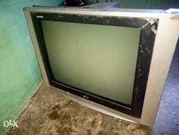 """17"""" crt tv scree with housing"""
