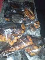 Tasty and hygienically smoked dry fish