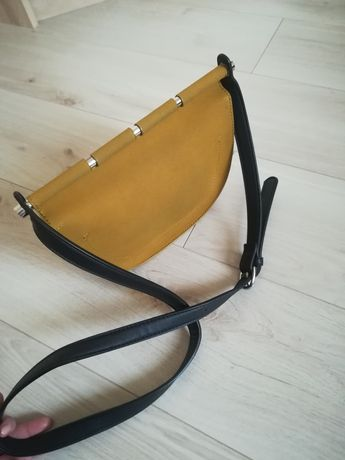 4b91cd85eed20 Torebka żółta mała na ramię Reserved Gdańsk Jasień • OLX.pl