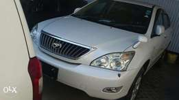 Toyota harrier 2011 white, black available