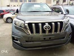 Toyota Prado TX diesel Gray colour fully loaded kcp