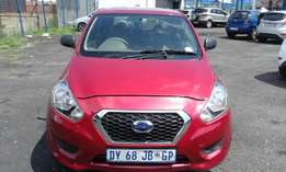 Datsun Go 1.2 Model 2015 5 Doors Colour Red Factory A/C & CD Player