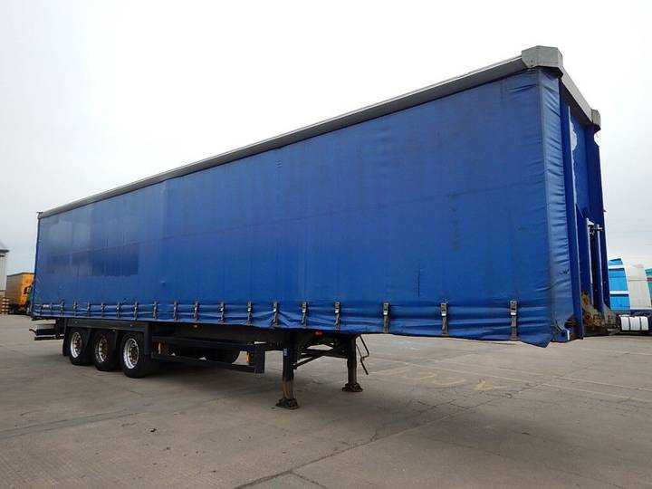Schmitz Cargobull 45FT CURTAINSIDE TRAILER - C248849 - 2008