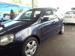 2003 Blue VW Polo 1,6 Comfortliner