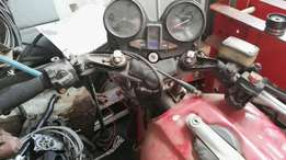 Honda rolling chasis compl with strpped motor