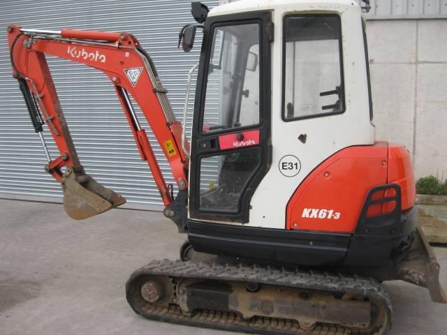 Kubota Kx 61-3 - 2012
