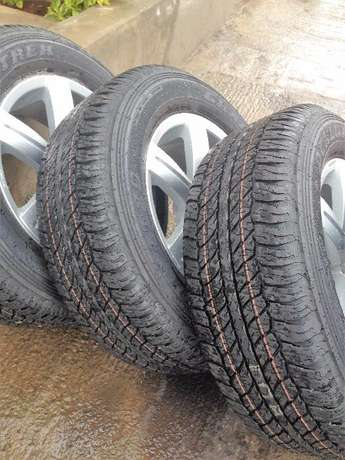full set brand new Pajero rims and tyres Nairobi CBD - image 3