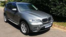2010 BMW X5 3.0D xDRIVE (LCi facelift) 7 SEATER