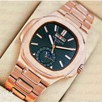Rose gold Patek Philippe nautilus wrist watch