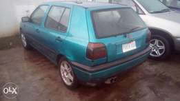 Golf 3, automatic drive, AC, first body.