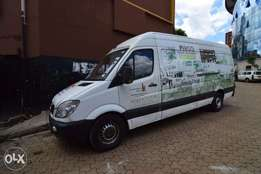 Mercedes Benz Sprinter Van 2007 Model