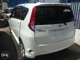 Toyota passion sette seven seats fully loaded pearl white kcp