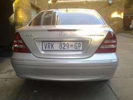 a good condition mercedes benz 2007 C CLASS FOR SALE