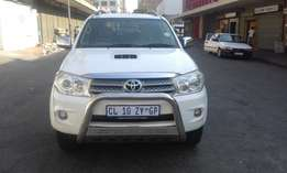 Toyota fortuner white in color D4D 20011 model 131000km R265000