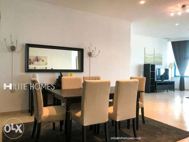 Three bedrooms fully furnished Sea view apartment in SALMIYA