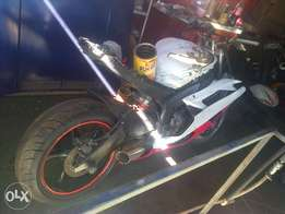 bike and spares