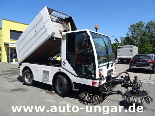 Bucher Citycat Cc5000 3 Besen 50km-h 7.490kg 4-rad Lenkun - 2005