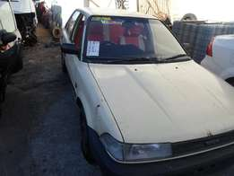 1993 TOYOTA COROLLA Bubble shape breaking for spares.