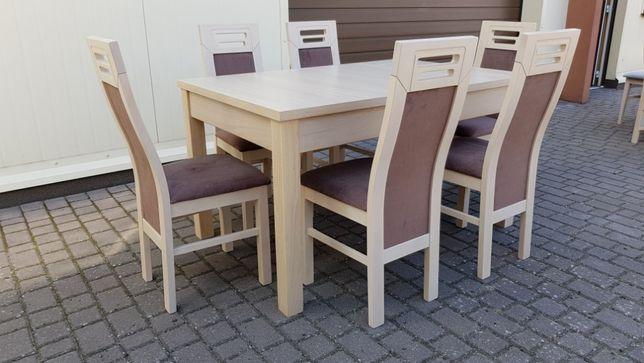 Krzesło Krzesła Tapicerowane Bukowe Wygodne Do Jadalni