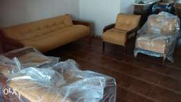 Full Lounge suite+ wall unit+ coffee tables for sale