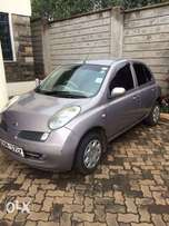 very clean nissan march on sale