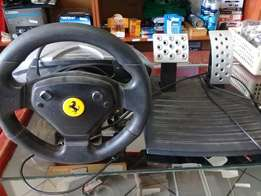 PC Steering Wheel and Pedals FOR SALE