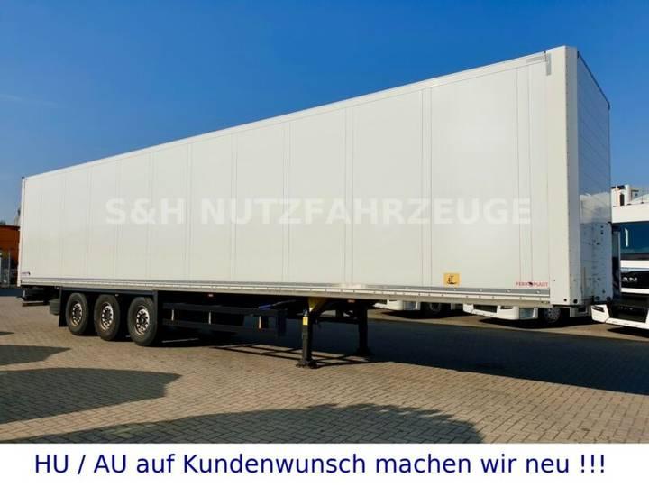 Schmitz Cargobull Isolierte Koffer mit Doppelstock Schmitz Achse - 2014