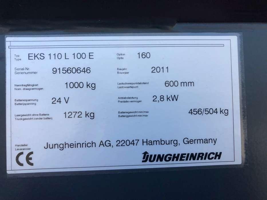 Jungheinrich EKS 110L 100 E Pallettruck - image 22