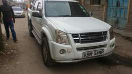 Very clean Isuzu Dmax double cab.