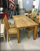 Solid Hard wood 4 and 6 seater dinning table from germany