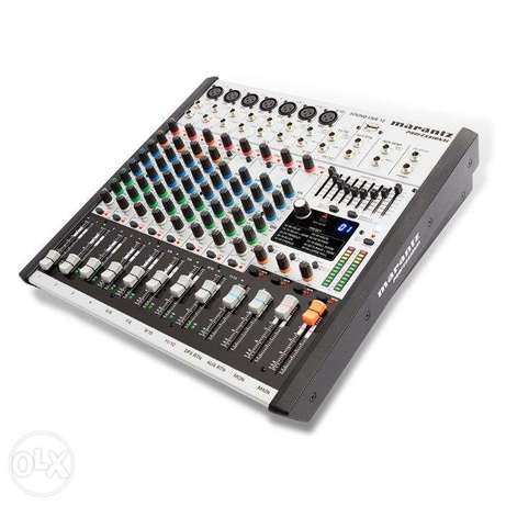 Marantz Sound Live 12 12-Channel / 2-Bus Tabletop Mixer