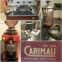 Carimali Coffee machine and Grinder