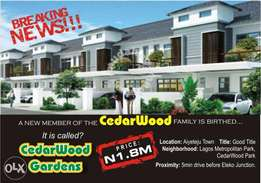 CEDARWOOD GARDEN-Buy 1 and get a live Turkey for free