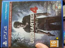 Uncharted 4 thief's end ps4 game